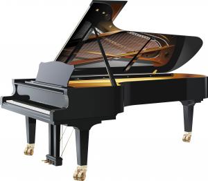 写真っぽいグランドピアノ