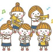 原市中学校の吹奏楽部のコンサートでした つかもとピアノ教室上尾