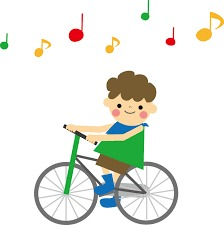 つかもとピアノ 自転車
